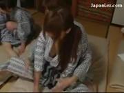Japońskie lesbijki w grupie