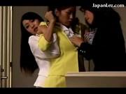 Niegrzeczne Japonki w biurze