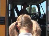 Blondynka i kierowca